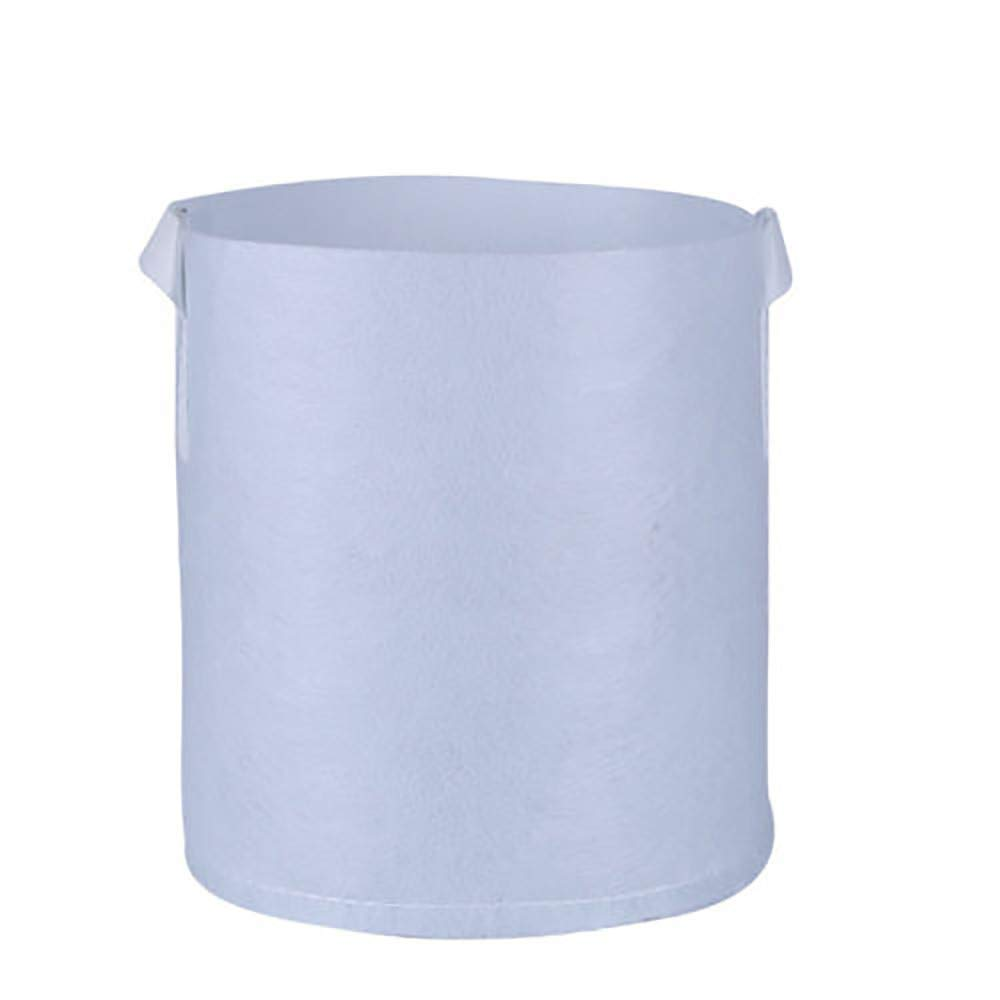 X-i^i Round Fabric Pots Root Container Grow Bag Plant Pouch Aeration Container Creative Flower Pot (S)
