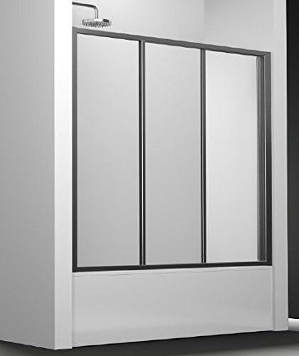 Mampara de ducha y de ducha ec-110 con puertas coulissants y un ...