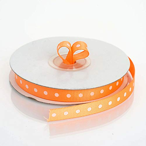 Yds Orange Grosgrain Ribbon - 3/8