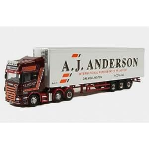 Amazon.com: Oxford Diecast A J Anderson Scania Fridge