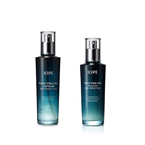 Iope Plant Stem Cell Skin Perfection Set 2 pcs ( Softener + Emulsion ) ()