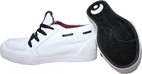 Osiris Skate Shoes Boater 2 White / Black Sneakers Shoes