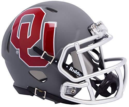 Oklahoma Sooners Riddell Speed Mini Football Helmet - 2019 AMP Alternate