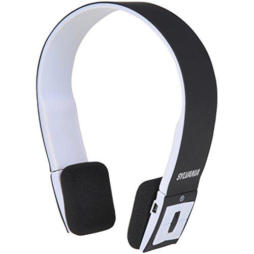 Sylvania Wireless Bluetooth Headphones Microphone