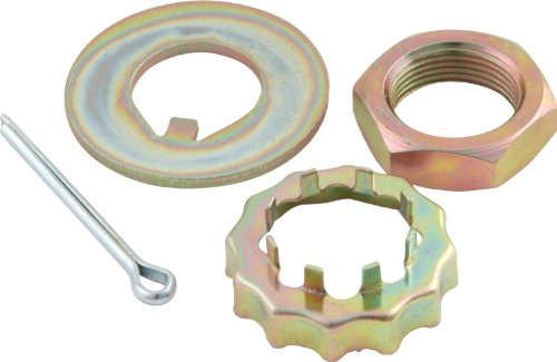 "Allstar ALL72161 2-3/32"" Spindle Lock Nut Kit for Stock Ford Pinto/Mustang II Spindles"