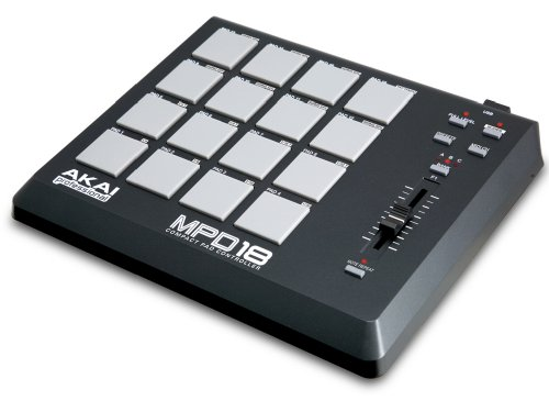 Akai MPD18 Compact MIDI Controller Percussion Pad (Used - Mint Condition)