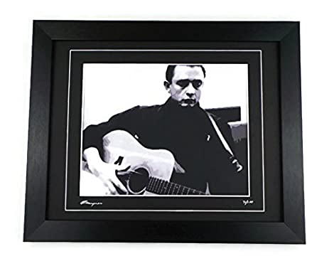 Amazon.com: Johnny Cash Limited Edition Framed Pop Art Print ...