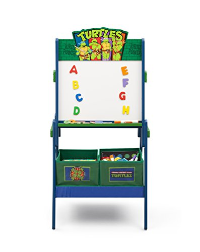 [Nickelodeon Teenage Mutant Ninja Turtles Activity Easel with Dry Erase Board and Magnetic Letters] (Ninja Turtle Face Paint)