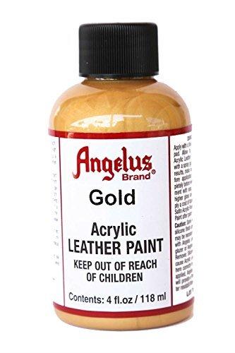 (Angelus Acrylic Paint 4 Oz. (Gold))