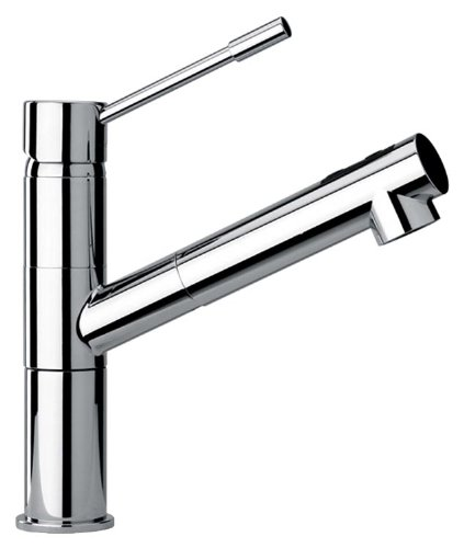 Jewel Faucets 25568  Modern Single Lever Handle One Hole Kitchen Faucet Chrome from Jewel Faucets