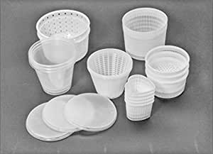 Lote de 21 piezas. Juego de moldes para producir Queso - Caciotta - Ricotta - Tofu - etc.: Amazon.es: Hogar