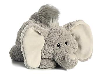 Aurora World Tushies Animals Trumpeter Elephant Plush 0