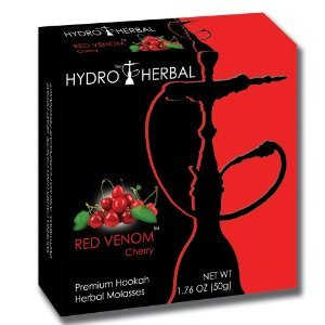 Hydro Herbal 250g Cherry Hookah Shisha Tobacco Free (Cherry Hookah)
