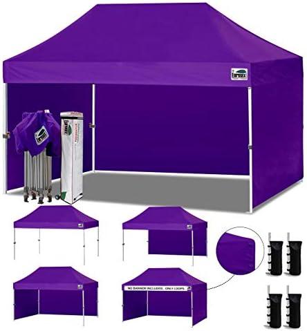 Eurmax 10'x15' Ez Pop-up Canopy Tent Commercial Instant Canopie