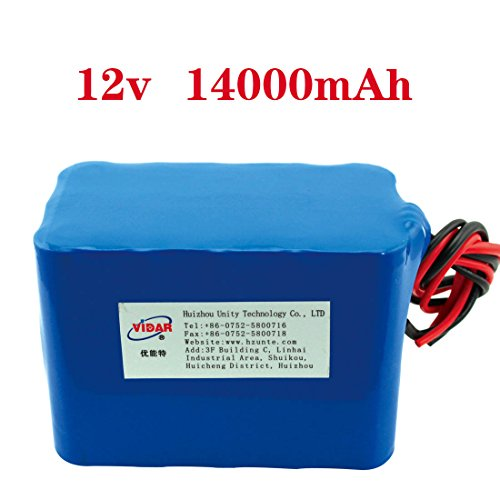 Customized 18650 lithium ion rechargeable battery pack 12v DC li-ion battery for Solar Power System/LED