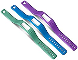 Garmin Vivofit Small Wristbands (Purple/Teal/Blue)