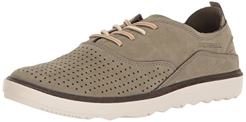 Merrell Women's Around Town Lace Air Fashion Sneaker, Vertiver, 6 M US Merrell Women Footwear Sneakers