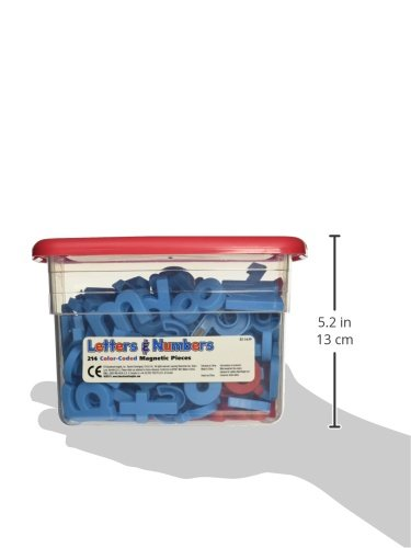 Red and Blue 214 Pieces School Smart Educational Insights Alphamagnets /& Mathmagnets 070621 School Specialty