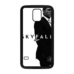 High Quality TPU Case Cover Daniel Craig Agent 007Skyfall Black and White Brutal Custom Perfect Case for Samsung Galaxy S5