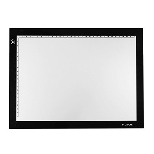 HITSAN A4 LED Artist Tattoo Art Stencil Board Light Box Tracing Drawing Board Pad Table One Piece by HITSAN