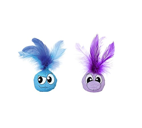 - Feather Balls Catnip Filled Cat Toys (2 Pack) by Petstages
