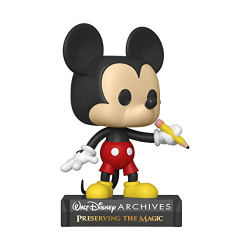 Funko- Pop Disney Archives-Classic Mickey Figura Coleccionable, Multicolor (49890)