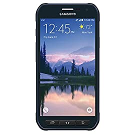 "Samsung Galaxy S6 Active, 32 GB , Blue (AT&T) 9 2G bands GSM 850 / 900 / 1800 / 1900; 3G bands HSDPA 850 / 1900 / 2100; 4G bands LTE band 1(2100), 2(1900), 3(1800), 4(1700/2100), 5(850), 7(2600), 8(900), 12(700), 17(700), 20(800), 29(700), 40(2300); Speed HSPA 42.2/5.76 Mbps, LTE-A Cat6 300/50 Mbps; GPRS Yes; EDGE Yes 5.1"" Super AMOLED capacitive touchscreen, 16M colors; Resolution 1440 x 2560 pixels (~576 ppi pixel density); Multitouch Yes; Protection Corning Gorilla Glass 4; Dimensions 146.8 x 73.4 x 8.6 mm (5.78 x 2.89 x 0.34 in); Weight 170 g (6.00 oz); SIM Nano-SIM OS Android OS, v5.0.2 (Lollipop), upgradable to v6.0.1 (Marshmallow); Chipset Exynos 7420 Octa; CPU Octa-core (4x2.1 GHz Cortex-A57 & 4x1.5 GHz Cortex-A53); GPU Mali-T760MP8; Card slot No; Internal 32 GB, 3 GB RAM;"