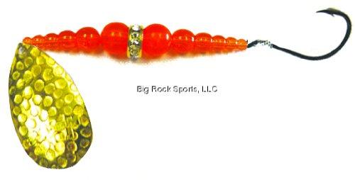Mack 's Lure 09882ウェディングリングSpinner – スーパーシリーズHammered Brass   B00CO8VY6U