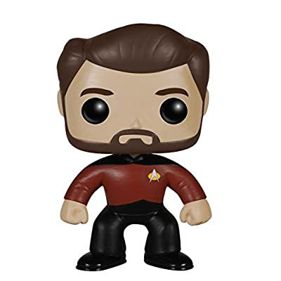 Funko POP TV: Star Trek The Next Generation - Will Riker Action Figure: Funko Pop! Television:: Toys & Games