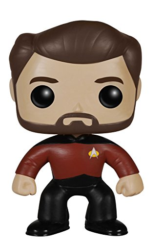 Funko POP TV: Star Trek The Next Generation - Will Riker Action Figure