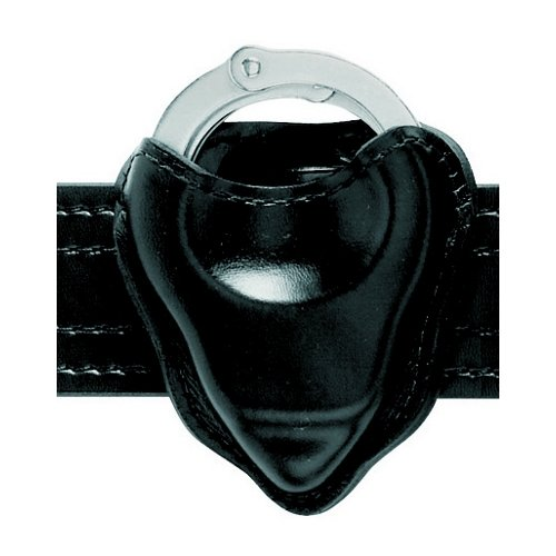 Safariland 090 Handcuff Pouch, B/W Black, Open Top Formed
