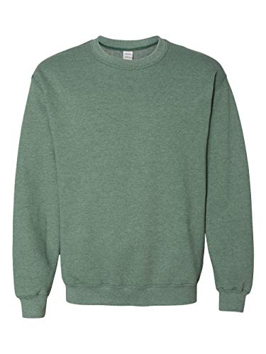 Jumper Heather - Gildan - Heavy Blend Crewneck Sweatshirt - 18000 - L - Heather Sport Dark Green