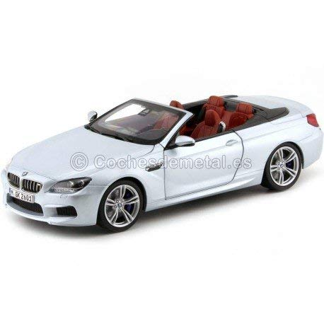 BMW M6 Convertible (F12), silver , 2012, Model Car, Ready-made, Paragon 1:18 ()