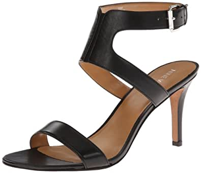 Nine West Women's Izolla Dress Sandal,Black Leather,5.5 M US