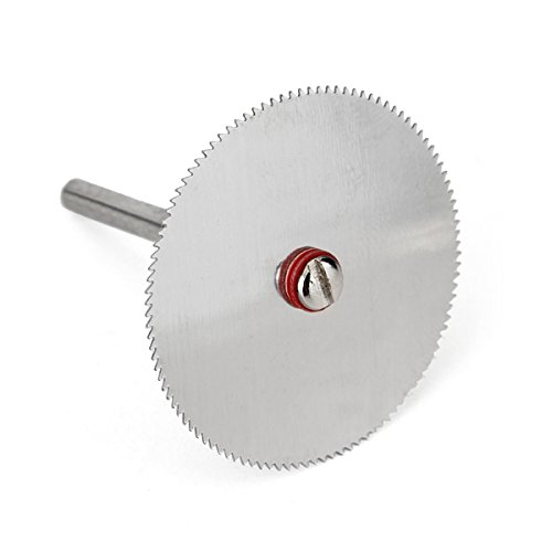 5Pcs 32mm Stainless Steel Slice Metal Cutting Disc with 1 Mandrel for Dremel Rotary Tools