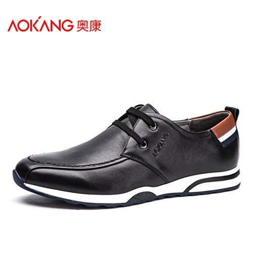 Aemember scarpe da uomo e confortevoli urbano Scarpe Casual la Gioventù Maschile di gancio ,39, nero