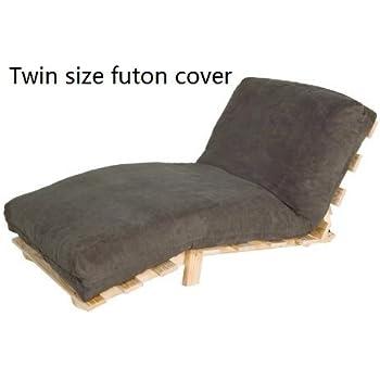Amazon.com: Aqua Premium Futon Cover - Twin Size: Home & Kitchen