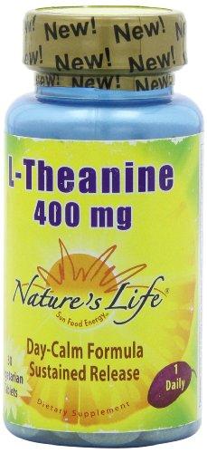 Vida L-teanina de la naturaleza, 400 Mg, 30 pastillas vegetarianas