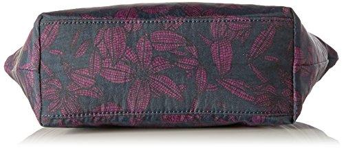 Orchid Women's Multicoloured cm Geo Black Multicoloured Bag Bloom Messenger 36 Retro K1435040G Kipling PdqvP