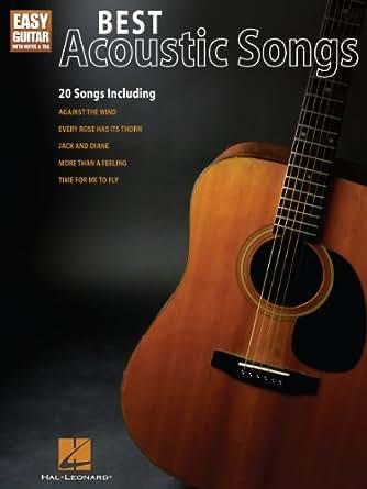 Best Acoustic Songs for Easy Guitar: Easy Guitar with Notes and Tab (Easy  Guitar with Notes & Tab)