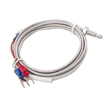 eDealMax K Tipo di termocoppia di controllo di temperatura Della sonda del sensore 2 Meter