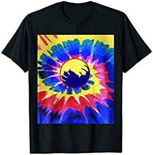 Tie Dye Cat | Yinyang Cats Eyes Kitty Lovers Gifts Tee T-shirt | Size S - 5XL
