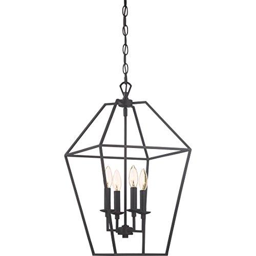 Quoizel AVY5204PN Aviary Lantern Foyer Pendant Lighting, 4-Light, 240 Watts, Palladian Bronze (23