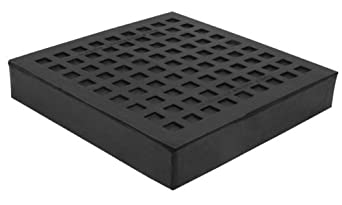 "Mason BBNR10X10 Natural Rubber Bridge Bearing Vibration Isolation Pad, 10"" Length x 10"" Width x 1"" Thick"