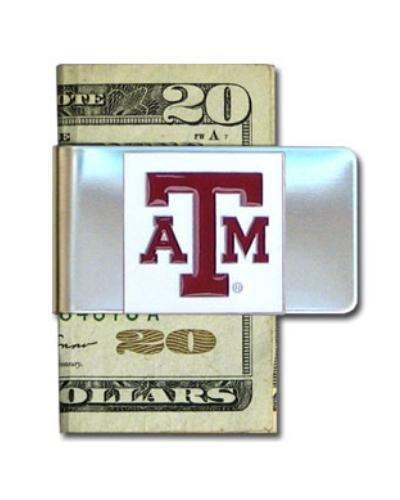 Texas A & M Aggies Steel Money Clip ()