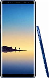 Samsung - Galaxy Note8 4G LTE with 64GB Memory Cell Phone (Unlocked) - Deepsea Blue (Certified Refurbished)