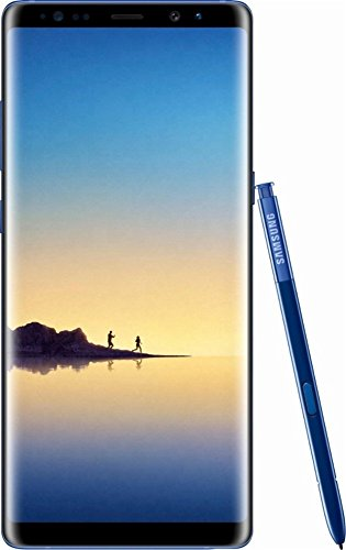 Samsung - Galaxy Note8 4G LTE with 64GB Memory Cell Phone (Unlocked) - Deepsea Blue (Renewed)