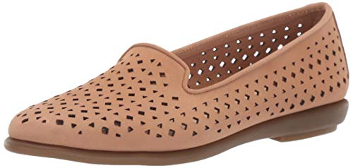Aerosoles Women's You Betcha Shoe, Nude Nubuck, 6.5 W US