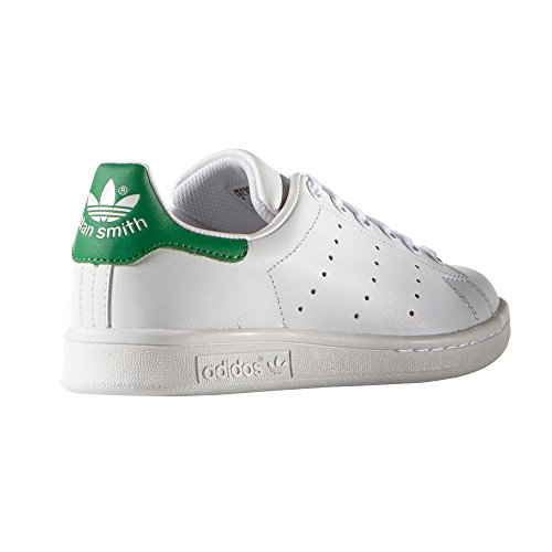 adidas Stan Smith blan Chaussures femme. Baskets mode. Sneaker chic ... 84977a22384