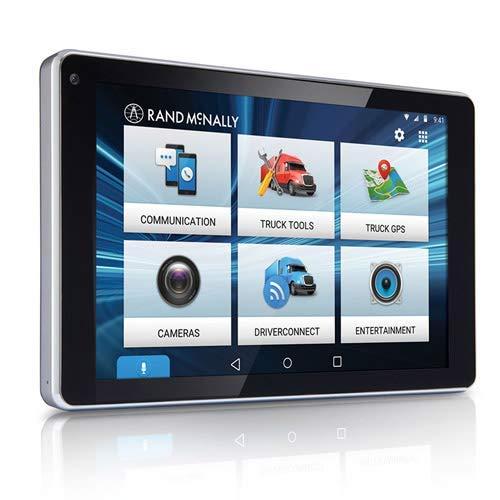 "Rand McNally - OverDryve 7 Pro Truck Navigation with 7"" Display, Bluetooth, SiriusXM, and Free Lifetime Maps"